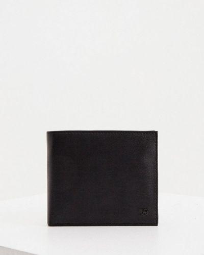 Черный кошелек из натуральной кожи John Richmond