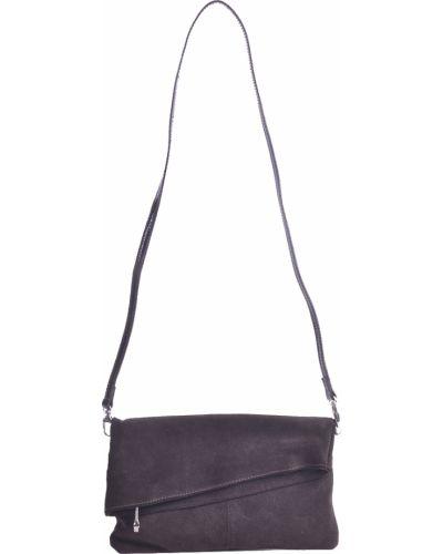 Текстильный клатч - коричневый Di Gregorio