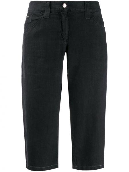 Черные классические брюки с карманами винтажные Dolce & Gabbana Pre-owned