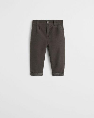 Spodnie na gumce wełniany spodni Mango Kids