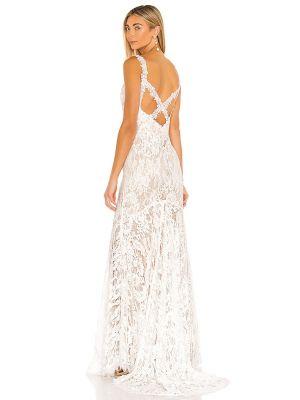 Sukienka wieczorowa vintage - beżowa Heartloom