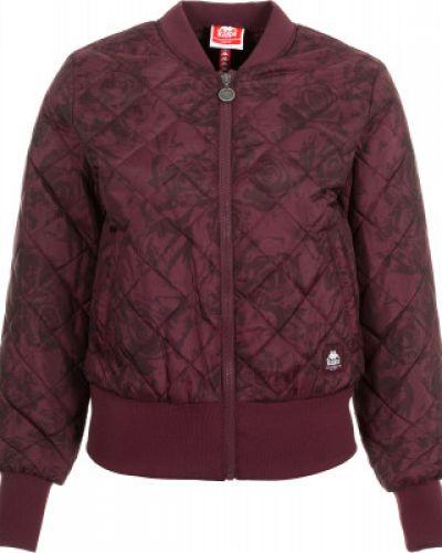 Утепленная куртка с капюшоном укороченная Kappa