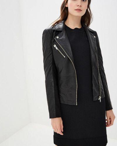 Черная осенняя куртка Y.a.s