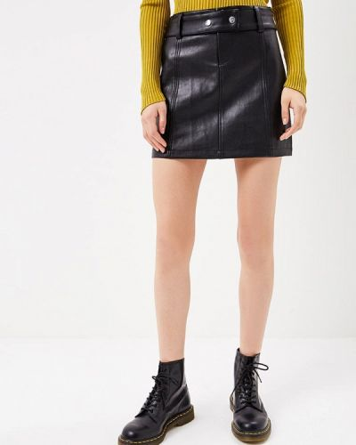 Черная юбка Softy