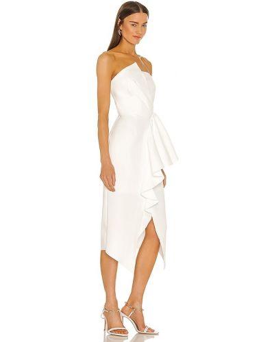 Плиссированное платье - белое Elliatt
