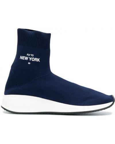 Синие кроссовки Joshua Sanders