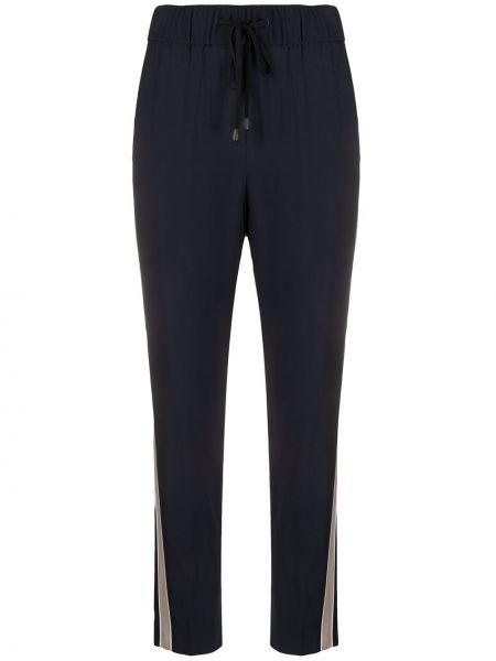 Спортивные брюки укороченные с завышенной талией Peserico