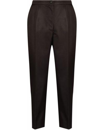 Укороченные брюки со стрелками шелковые Dolce&gabbana