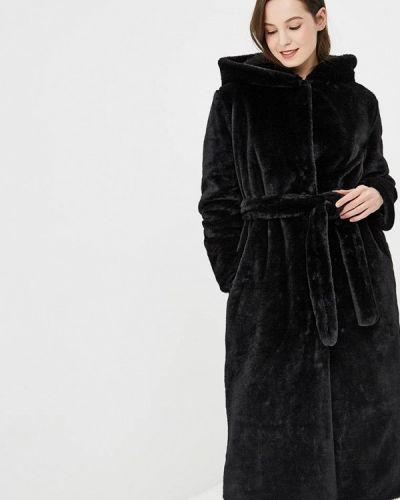 Шуба - черная Gepur