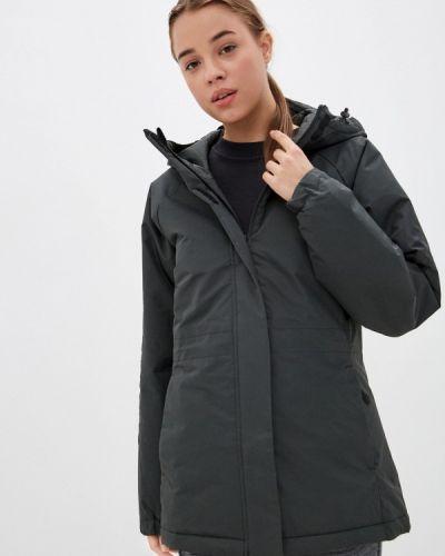 Утепленная куртка хаки Adidas