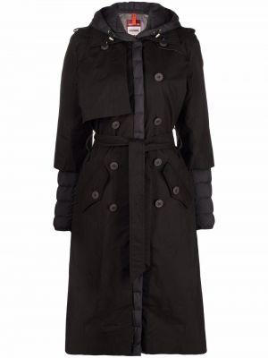 Пальто с капюшоном - черное Parajumpers