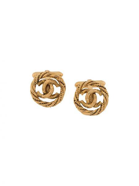 Spinka do mankietów ze złota Chanel Pre-owned