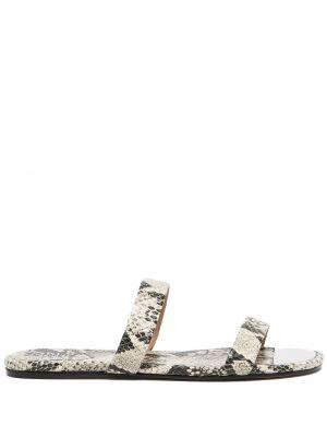 Czarne sandały peep toe Schutz