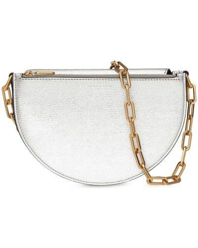 Маленькая сумка серебряный Burberry