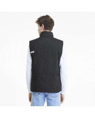 Классическая черная классическая жилетка на молнии с карманами Puma