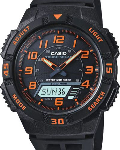 Часы водонепроницаемые с подсветкой немецкий Casio