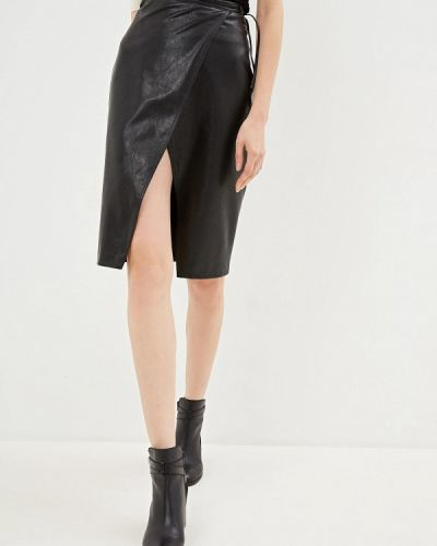 Кожаная юбка Armani Exchange