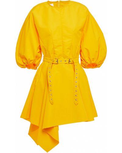 Sukienka mini - żółta Marques Almeida