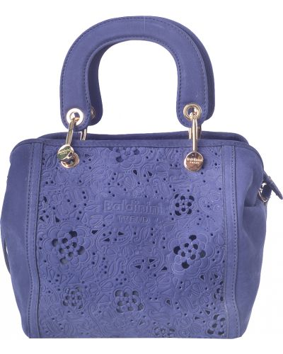 Синяя сумка Baldinini