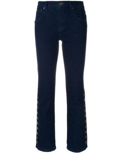 Расклешенные джинсы классические с заклепками Chloé
