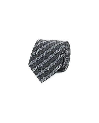 Серый галстук Versace