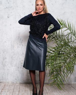 Кожаная юбка Leleya