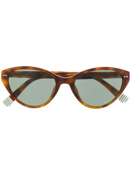 Темные солнцезащитные очки - коричневые Etnia Barcelona
