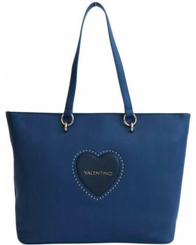 Niebieska torebka Valentino By Mario Valentino