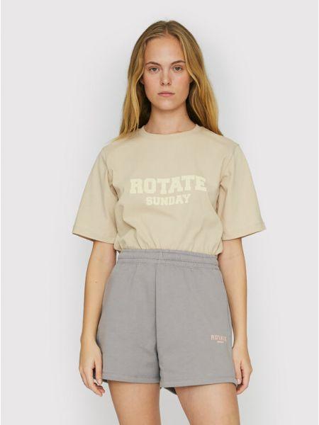 Beżowa t-shirt Rotate