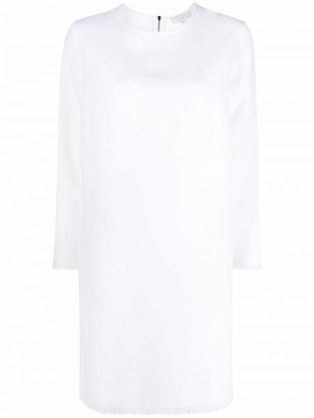 Biała sukienka wełniana Antonelli