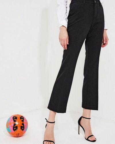 Черные брюки прямые Liu Jo