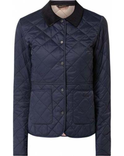 Niebieska kurtka pikowana Barbour