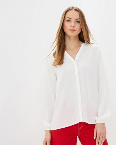 Блузка с длинным рукавом белая весенний Jacqueline De Yong