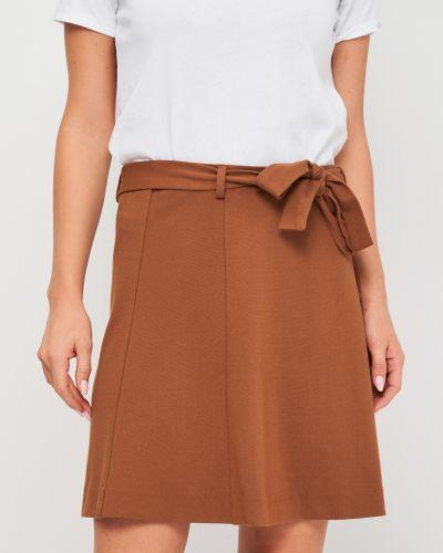 Юбка классическая - коричневая Selected Femme