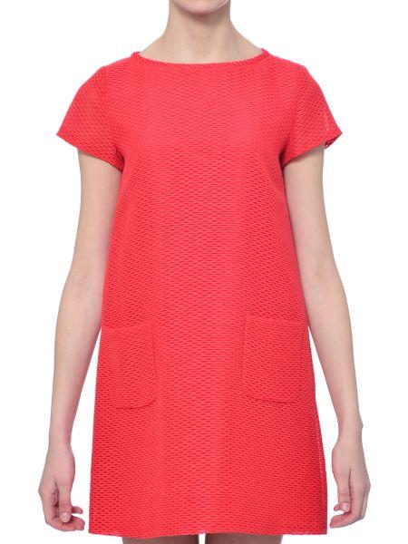 Хлопковое платье - красное Iblues