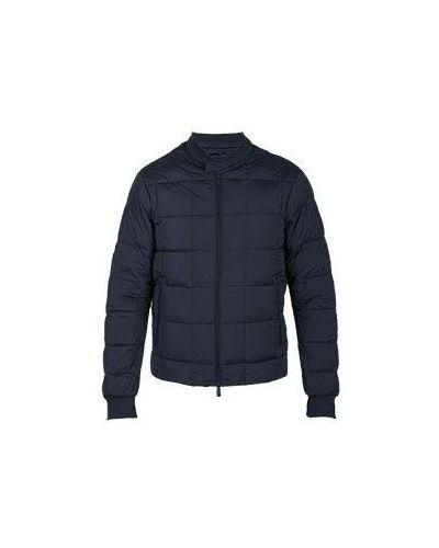 Синяя куртка демисезонная Armani Jeans