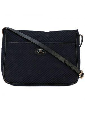 Синяя кожаная сумка Emilio Pucci Pre-owned