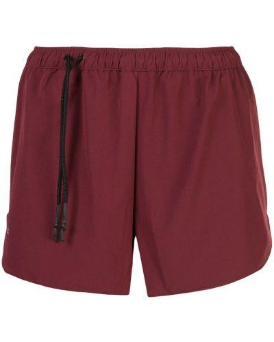 Красные спортивные шорты с карманами Siki Im