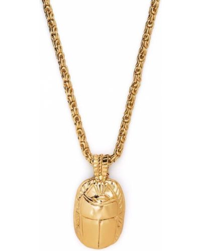 Złoty naszyjnik łańcuch Gas Bijoux