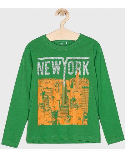 Блуза зеленый Name It