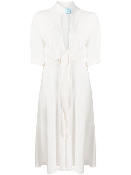Платье мини миди с нашивками Off-white