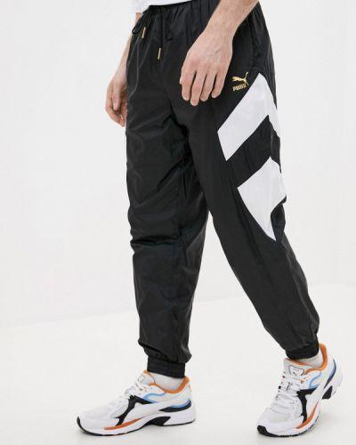 Спортивные черные спортивные брюки Puma