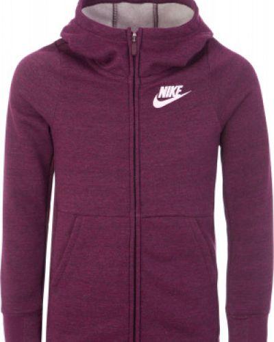 Джемпер с капюшоном красный Nike