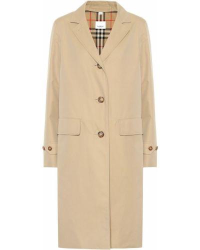 Пальто классическое бежевое Burberry