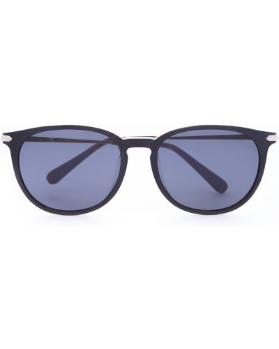 Солнцезащитные очки стеклянные круглые Brioni