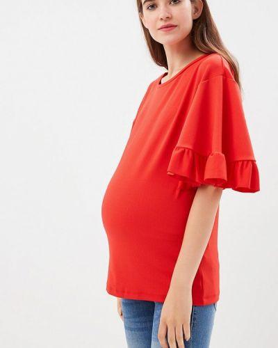 Блузка с рюшами для беременных Mama.licious