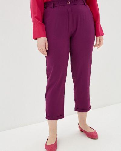 Фиолетовые прямые брюки Svesta