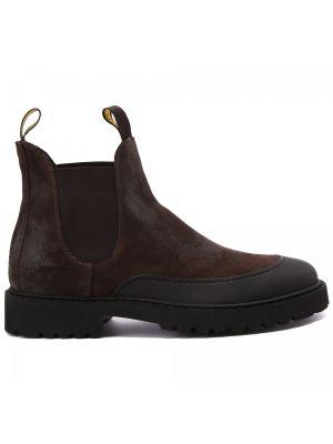 Коричневые итальянские ботинки Doucal's