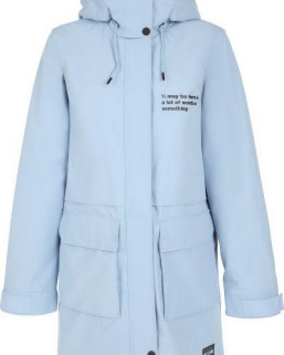 Свободная хлопковая теплая длинная куртка Termit