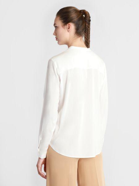 Белая блузка с длинными рукавами Marc O'polo Denim